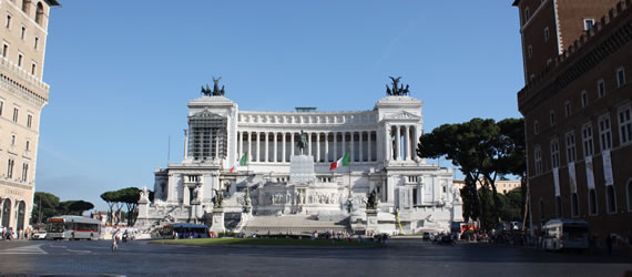 Close to the main squares of Rome